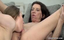 18 yo and granny lesbian sex after yoga